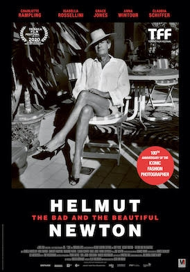 Locandina film HELMUT NEWTON - THE BAD AND THE BEAUTIFUL